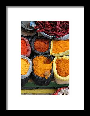 Flavours Framed Prints