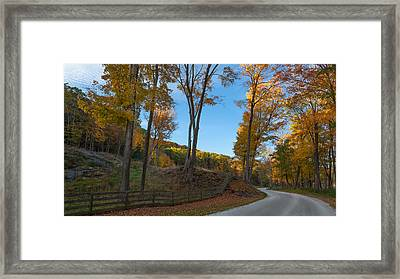 Chillin' On A Dirt Road Framed Print by Bill Wakeley