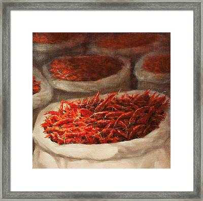 Chillis 2010 Framed Print