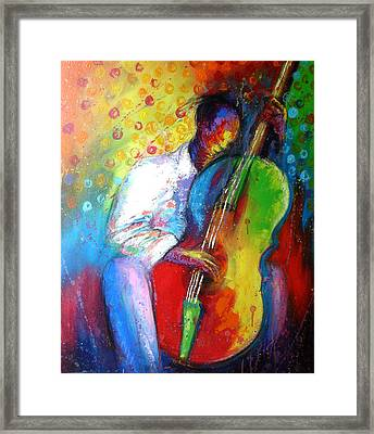 Chilln Framed Print by Tunde Afolayan-Famous
