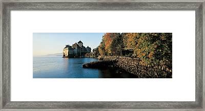 Chillon Castle Switzerland Framed Print