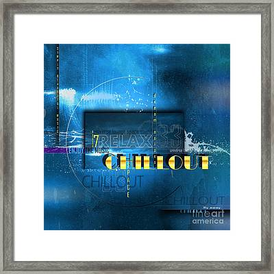 Chillout Framed Print