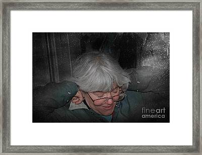 Chilly Framed Print by The Stone Age