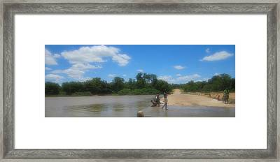 Chilonga Bridge Framed Print