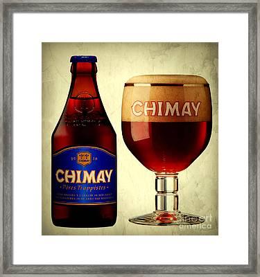 Chimay Blue Framed Print