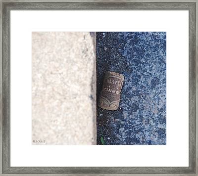 Chimay Wine Cork Framed Print by Rob Hans