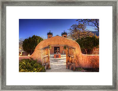 Chimayo Mission Framed Print