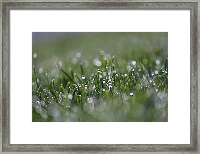 Chimes Framed Print by Silke Brubaker