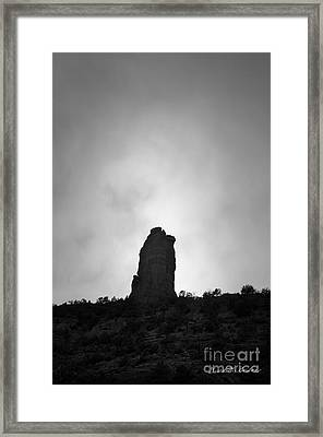 Chimney Rock IIi Framed Print by Dave Gordon