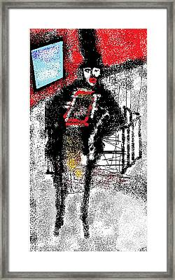 Chimney Sweeper Framed Print