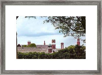 Chimneys Framed Print by John M Bailey