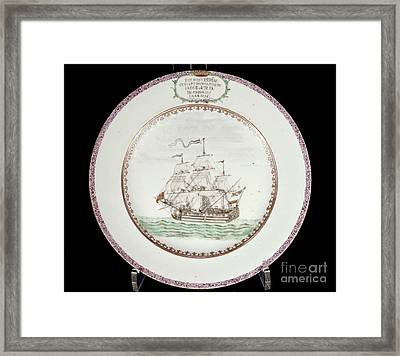 China - Dutch Ship 1756 Framed Print by Granger