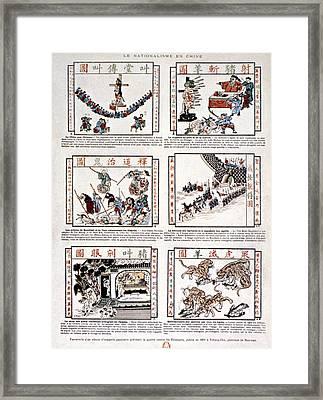 China Anti-foreigner Framed Print by Granger