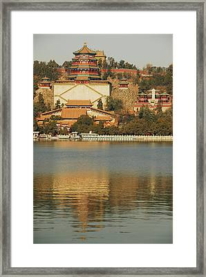 China, Beijing, Summer Palace, Temple Framed Print by Anthony Asael