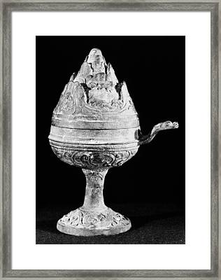 China Bronze Censer Framed Print by Granger