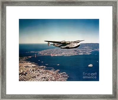 China Clipper 2 Framed Print by Pg Reproductions