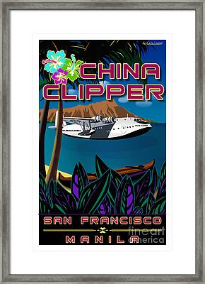 China Clipper Framed Print by Christopher Williams