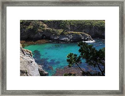 China Cove Framed Print by Donna Kennedy