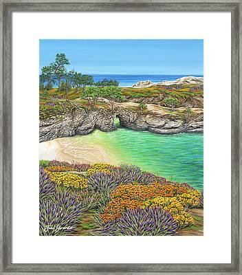 China Cove Paradise Framed Print