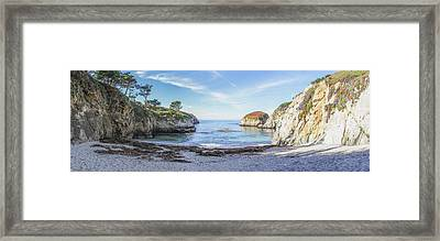 China Cove Point Lobos Framed Print by Brad Scott