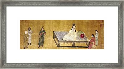 China Emperor And Prince Framed Print by Granger