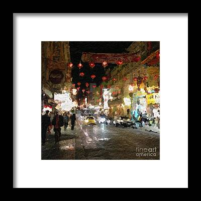 Chinatown Framed Prints