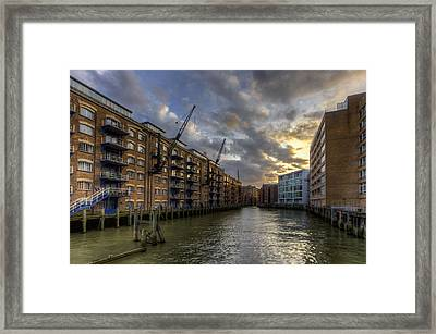 China Wharf Framed Print