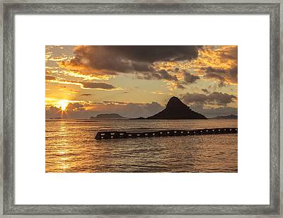 Chinaman's Hat 5 Framed Print