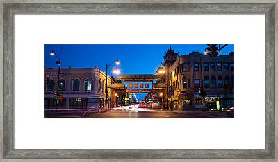 Chinatown Chicago Framed Print