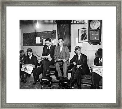 Chinatown Gang, 1933 Framed Print