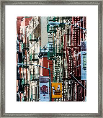 Framed Print featuring the photograph Chinatown by James Howe