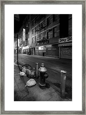 Chinatown New York City - Joe's Ginger On Pell Street Framed Print by Gary Heller
