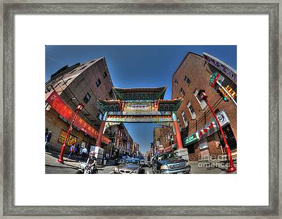 Chinatown Philadelphia Framed Print