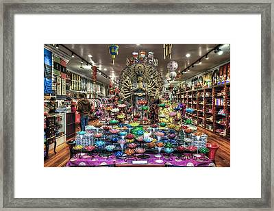 Chinatown Store Display San Francisco  Framed Print by Jennifer Rondinelli Reilly - Fine Art Photography