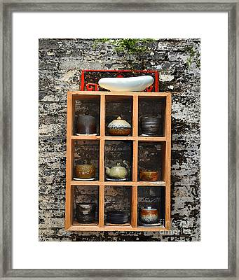 Chinese Ceramics Framed Print