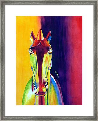 Chinese Dream Horse Framed Print