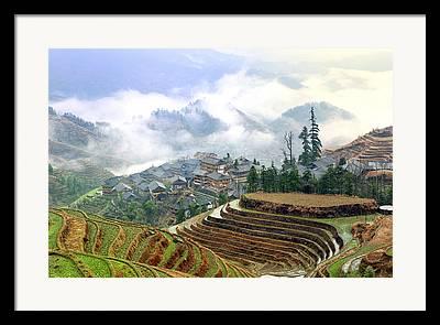 Chinese Landscape Framed Prints