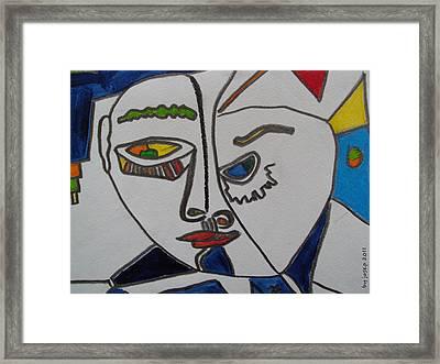 Chinese Fisheyes Part Three  Framed Print