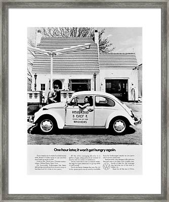 Chinese Food Framed Print by Benjamin Yeager
