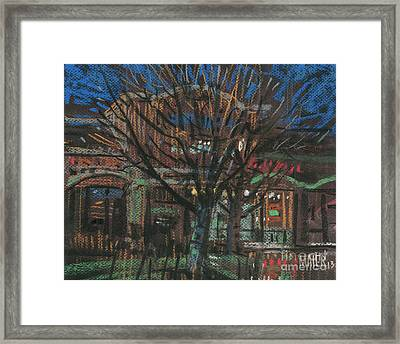 Chinese Food Framed Print by Donald Maier