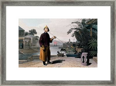 Chinese Gentleman, From A Picturesque Framed Print