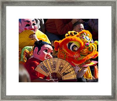 Chinese New Year 2 Framed Print by Mark Weaver