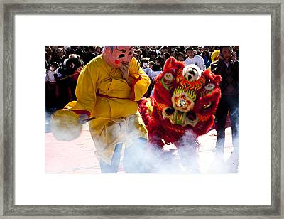 Chinese New Year Framed Print by Mark Weaver