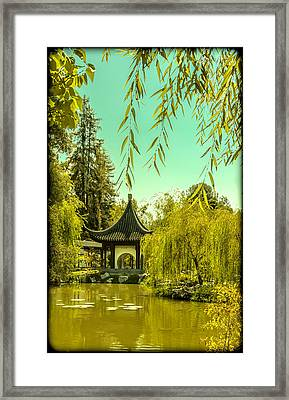 Chinese Pavillion Framed Print