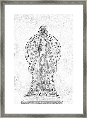 Chinese Sculpture Framed Print