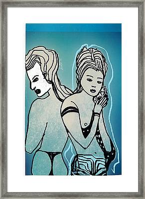 Framed Print featuring the digital art Chinese Showgirl by Don Koester