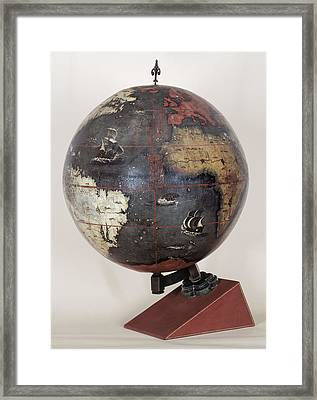 Chinese Terrestrial Globe Framed Print by British Library