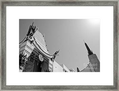 Chinese Theater Framed Print by Dan Holm