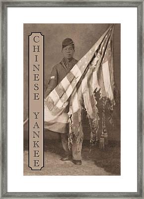 Chinese Yankee Framed Print
