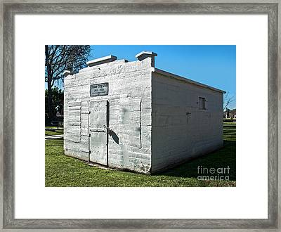 Chino Jail - 01 Framed Print by Gregory Dyer